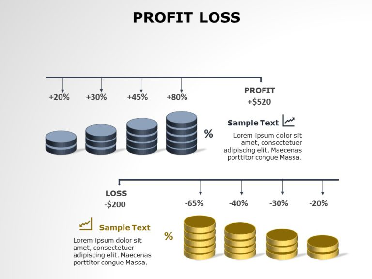 Profit and Loss Template 01