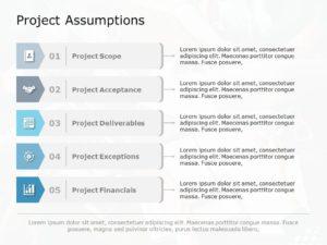 Project Assumptions 03