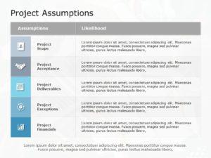 Project Assumptions 06