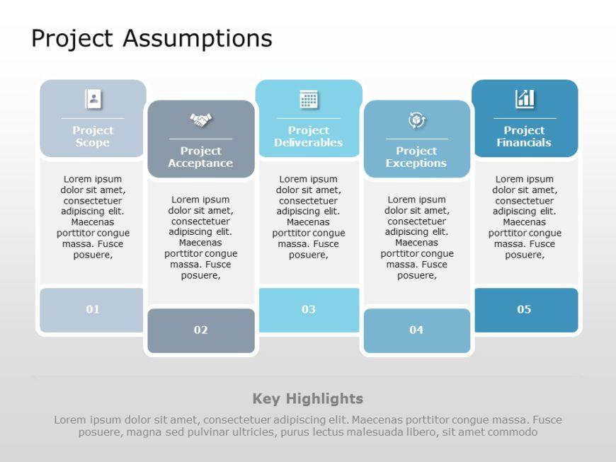 Project Assumptions 07