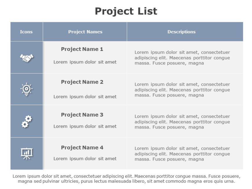 Project List 02