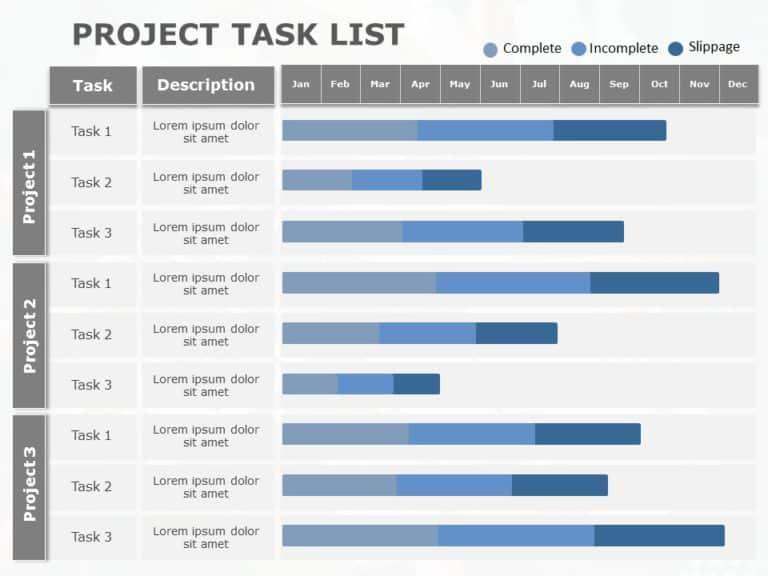 Project Task List 11