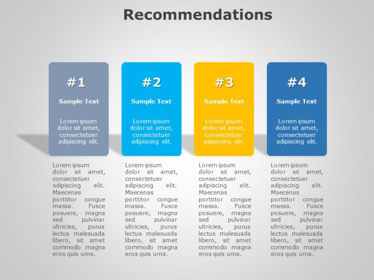 Recommendations 06