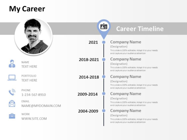 Resume Timeline 01