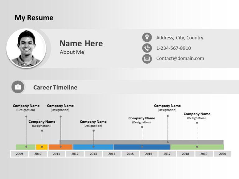 Resume Timeline 04