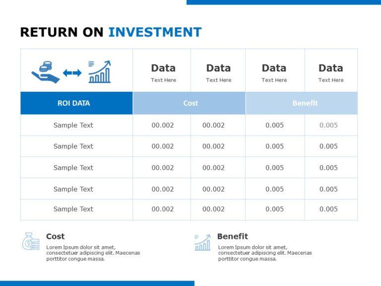 Return On Investment 06