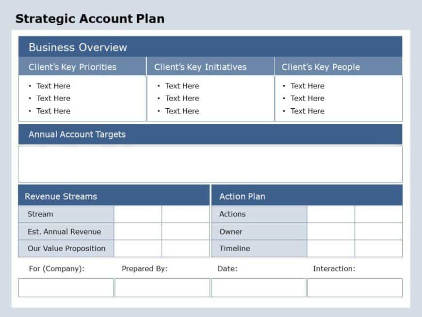 Sales Account Planning 06