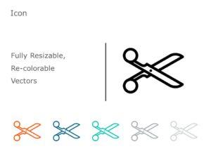 Scissor Icon 06