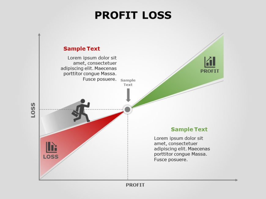 Simple Proft and Loss template