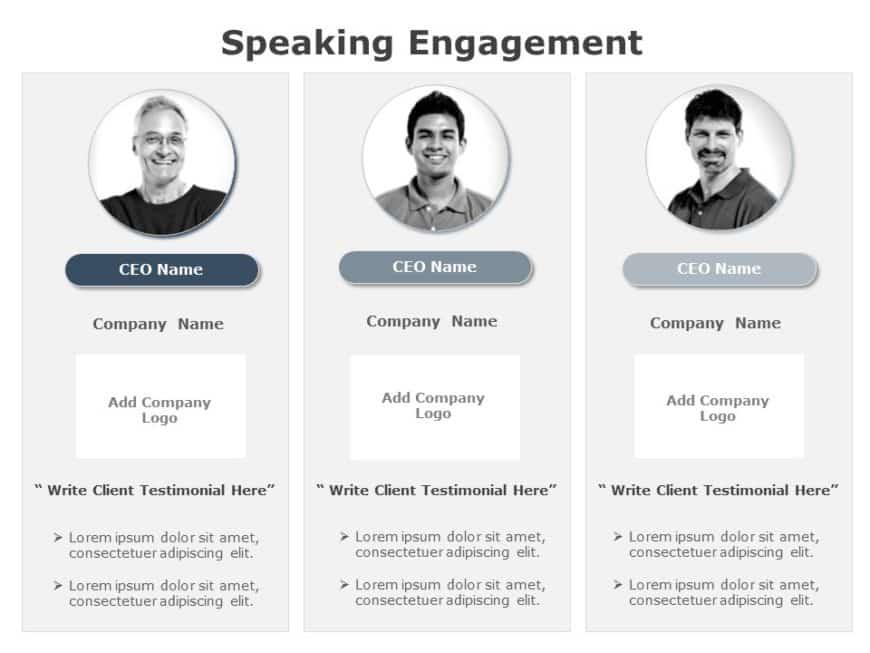 Speaking Engagement 01