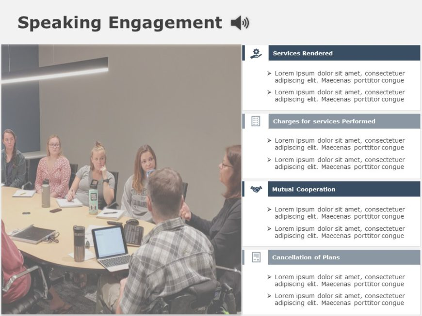 Speaking Engagement 03