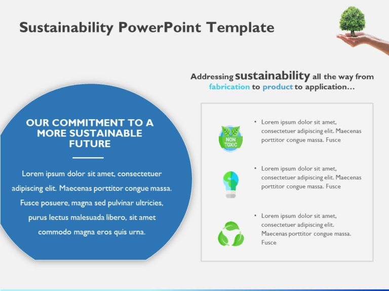 Sustainability Slide