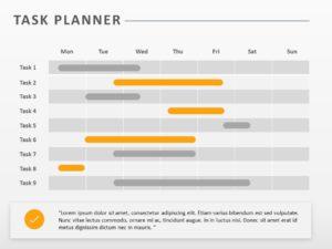 Task Planner Gantt Chart