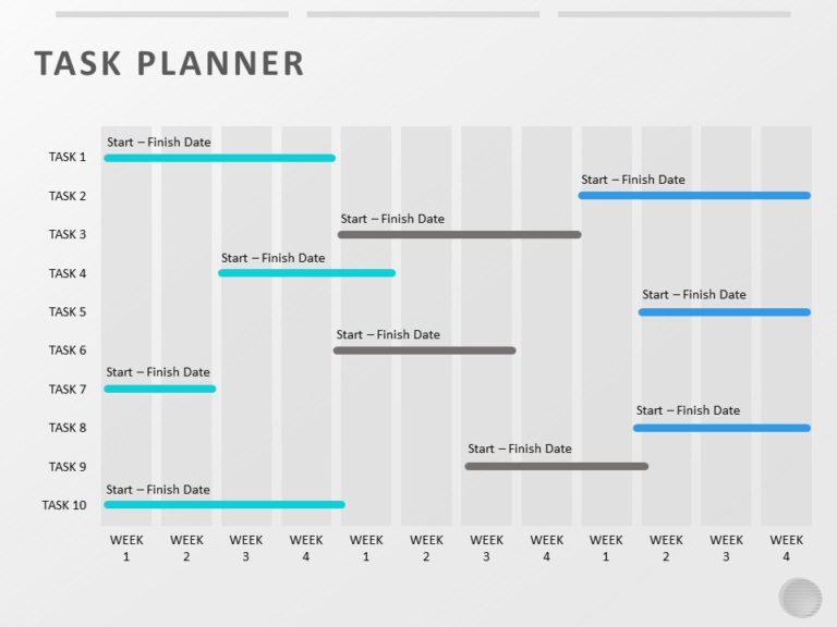 Task Planner Weekly Report