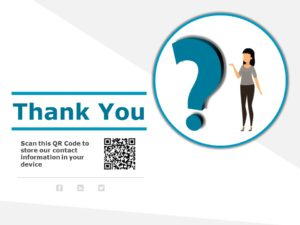 Thank You Slide with QR Code