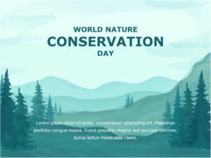 World Nature Conservation Day 01