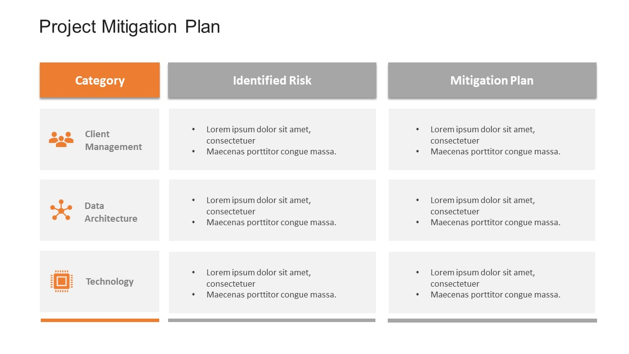 Project Risk Mitigation Plan