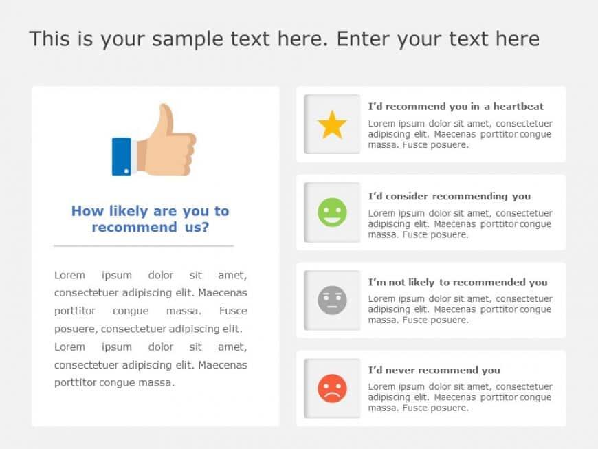 Quiz Survey Question Slide