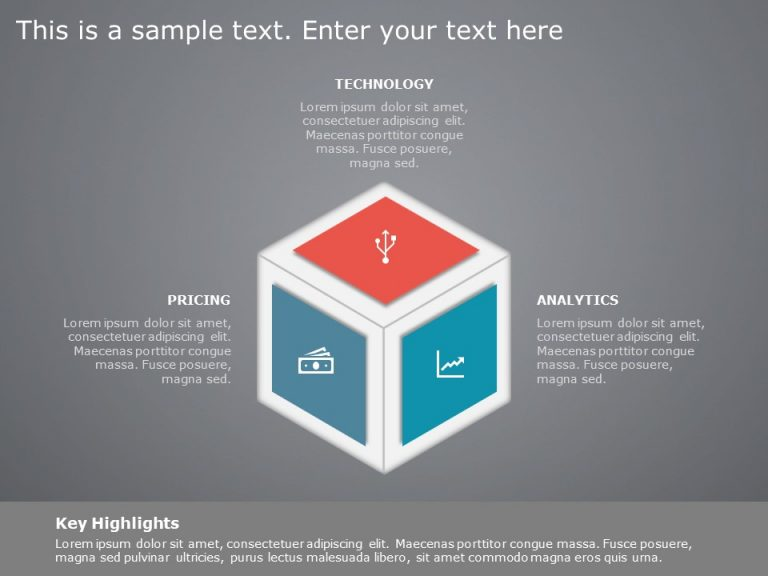 3D Box Strategy Template