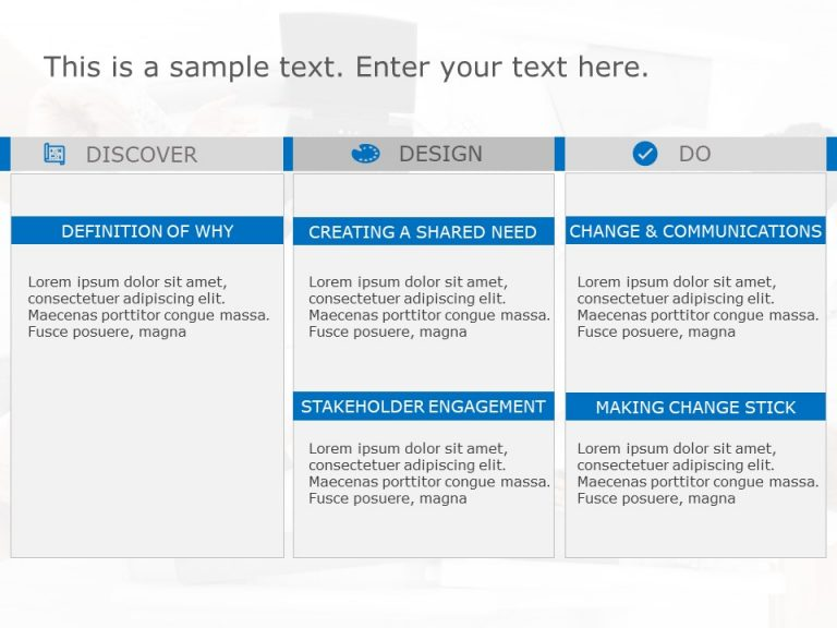Change Management Strategy Template