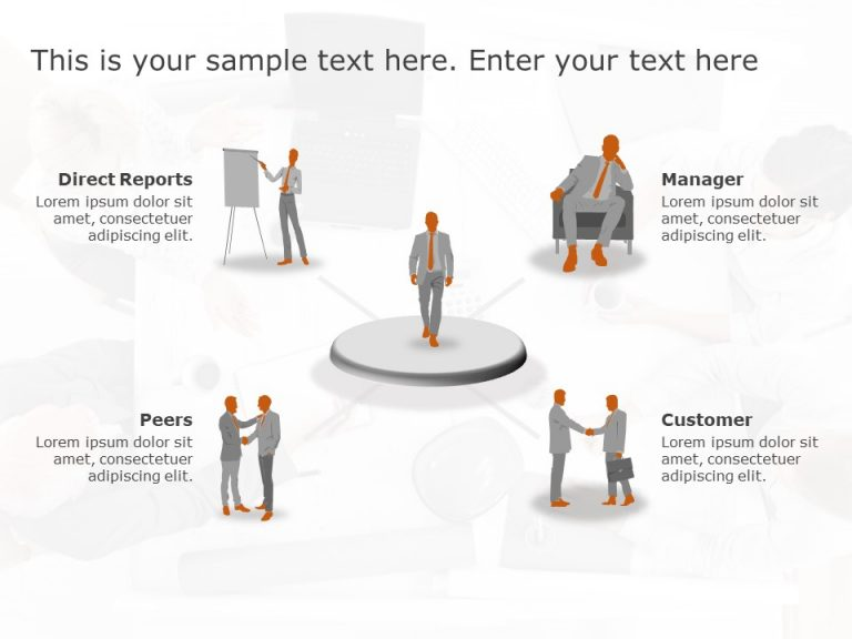 360 Degree Feedback PowerPoint Template