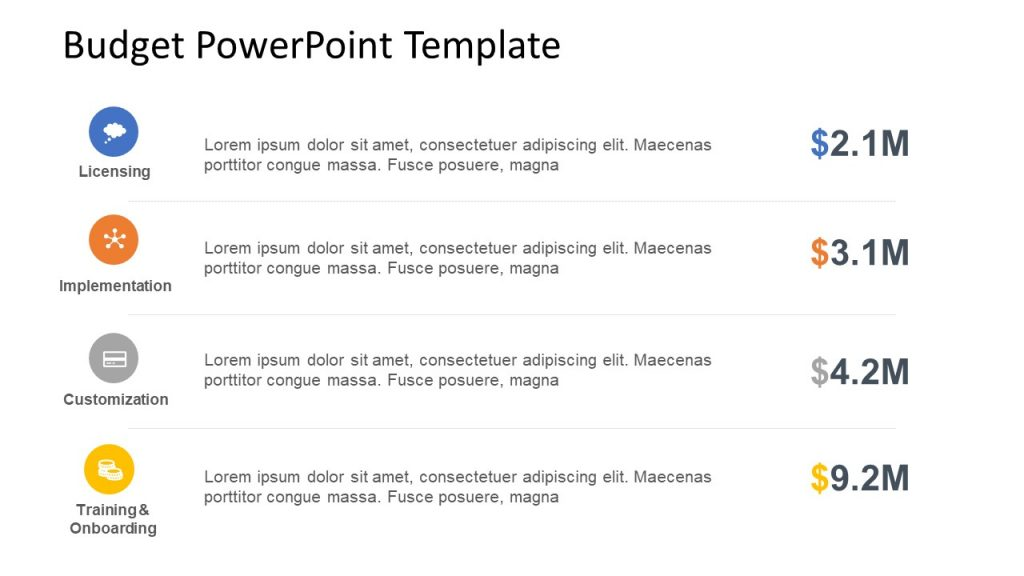 Budget PowerPoint Template