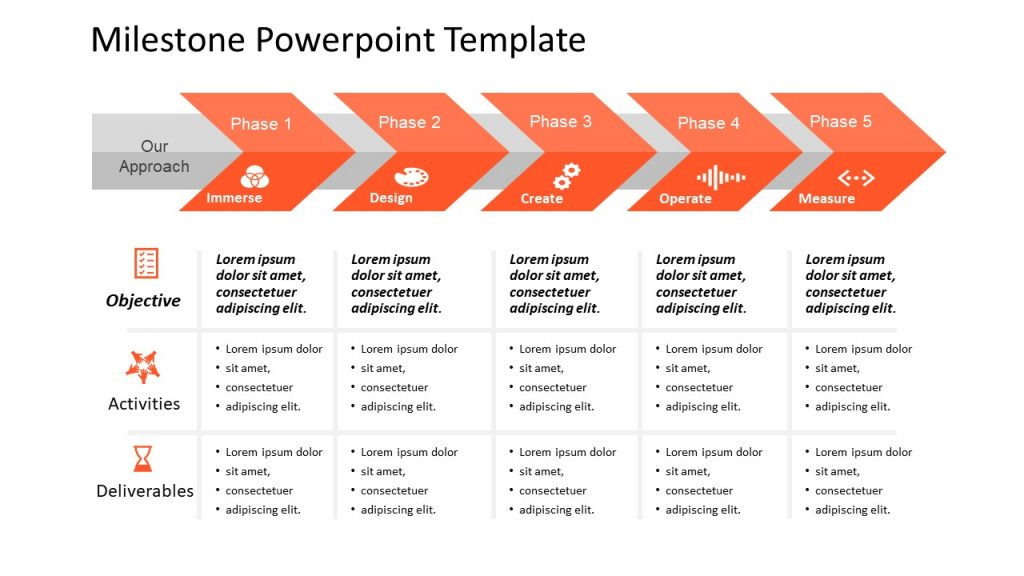 Milestone PowerPoint Template