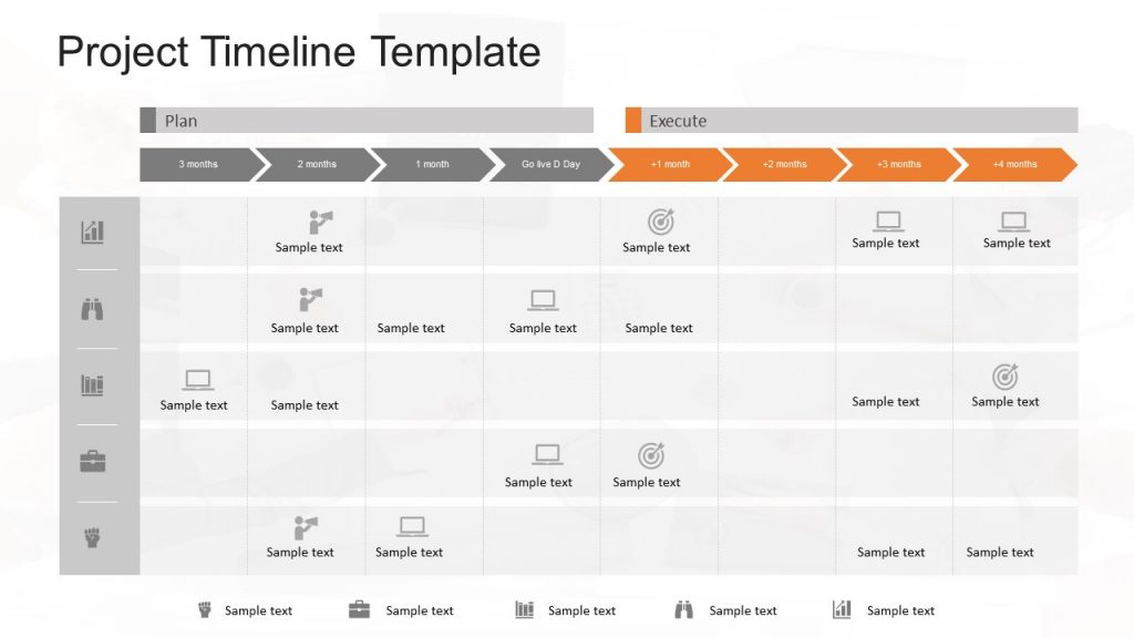Project Milestones Template