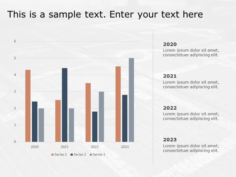 Yearly Timeline Milestones for PowerPoint