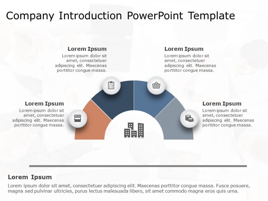 Professional Company Profile PowerPoint Template