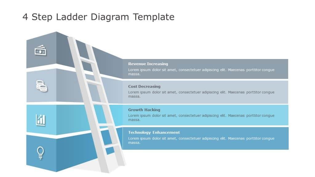 4 Step Ladder Diagram