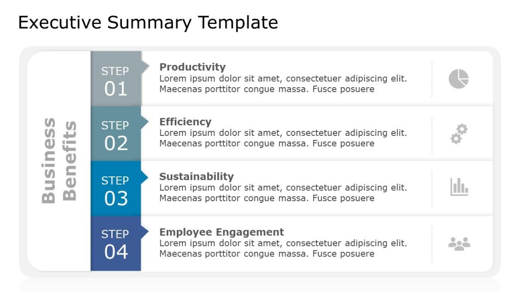 Executive Summary Free PPT Template