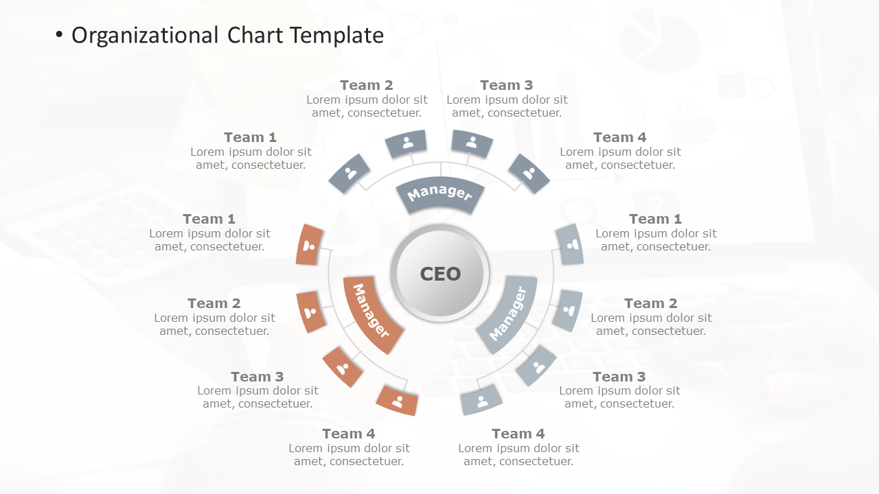 org chart powerpoint templates
