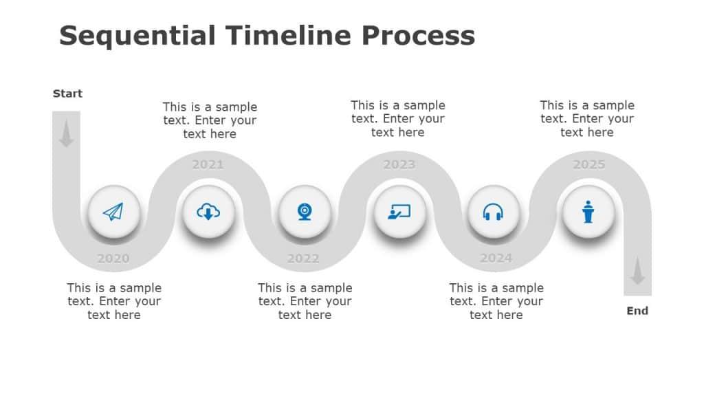 PowerPoint Process Flow Template