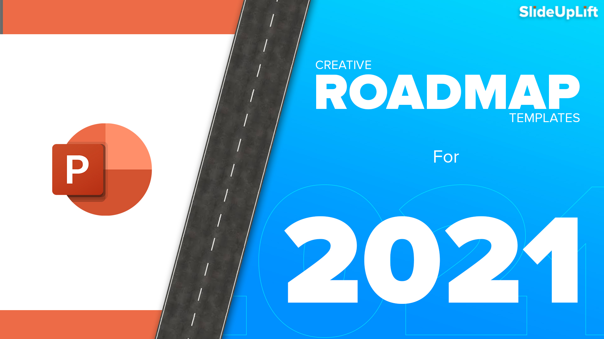 Creative Roadmap PowerPoint Templates for 2021 Business Planning Plus Free Roadmap Template
