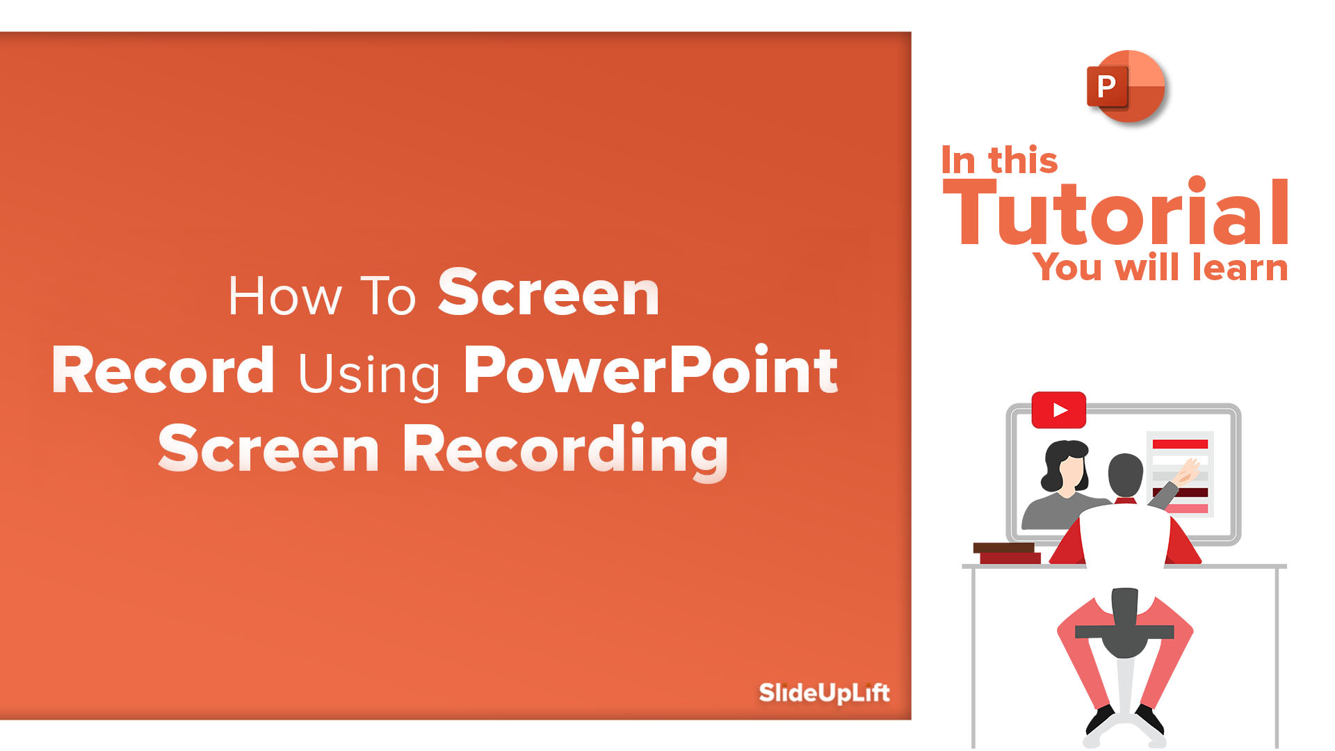 How To Screen Record Using PowerPoint Screen Recording | How To Record Your Screen | PowerPoint Tutorial