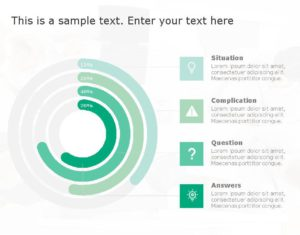 SCQA PowerPoint Template for business use ,1j