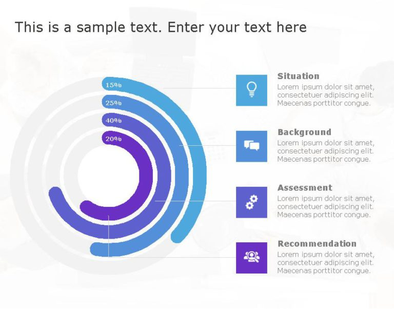 SBAR PowerPoint Template for business use ,2l