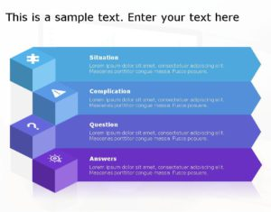 SCQA PowerPoint Template for business use ,6j