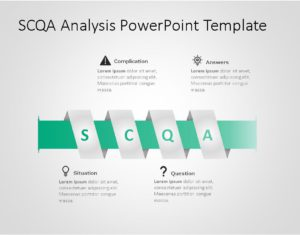 SCQA PowerPoint Template for business use ,10j
