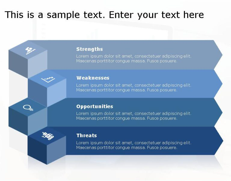 SWOT PowerPoint Template for business use -6h
