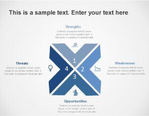 SWOT PowerPoint Template for business use -9h