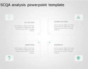 SCQA PowerPoint Template for business use ,19j