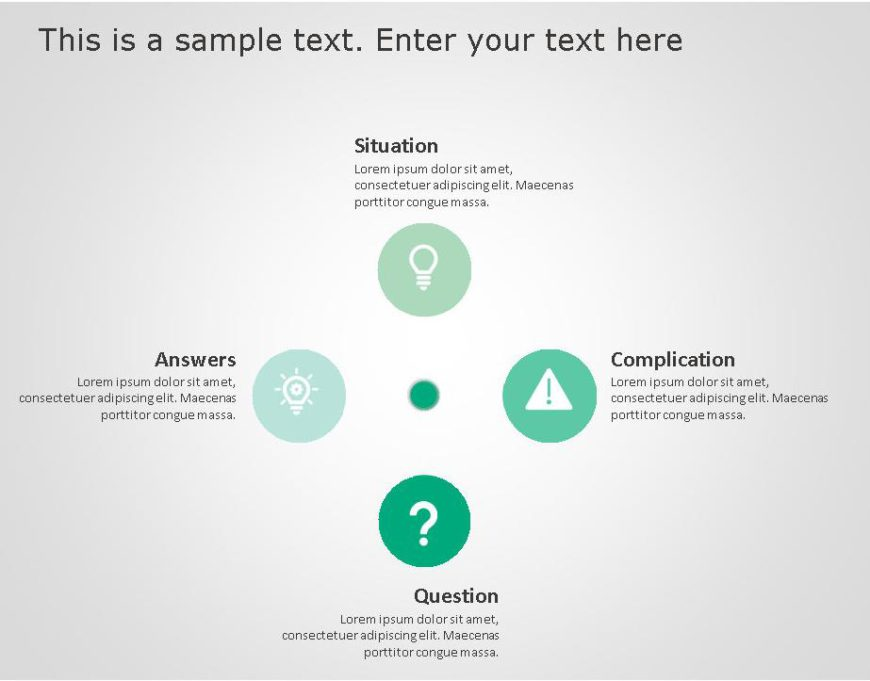 SCQA PowerPoint Template for business use ,20j