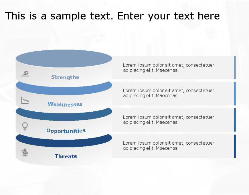SWOT PowerPoint Template for business use -15h