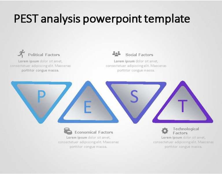 PEST Strategy Template for business use -17i