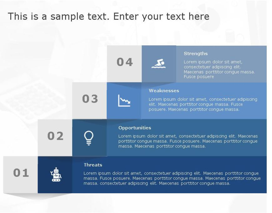 SWOT PowerPoint Template for business use -20h