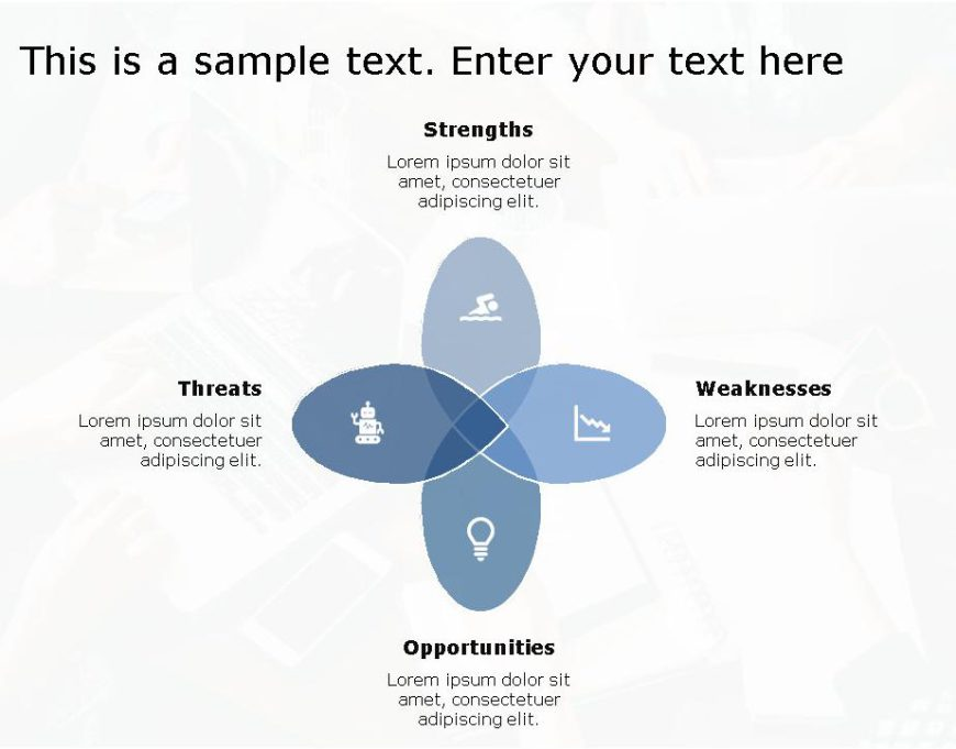 SWOT PowerPoint Template for business use -23h