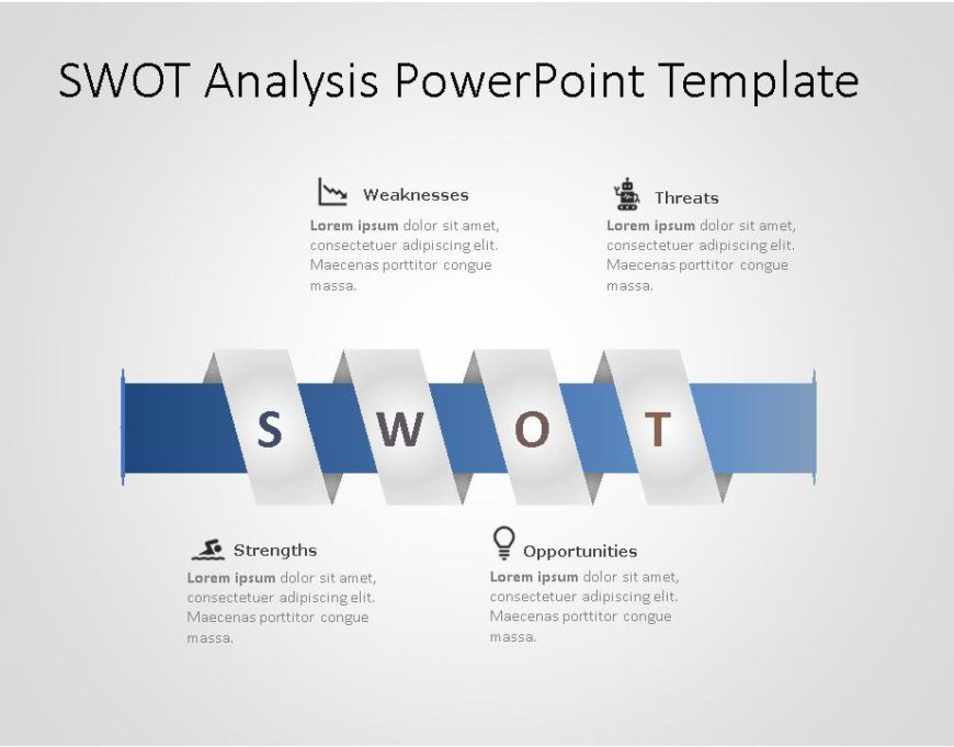 SWOT PowerPoint Template for business use -24h