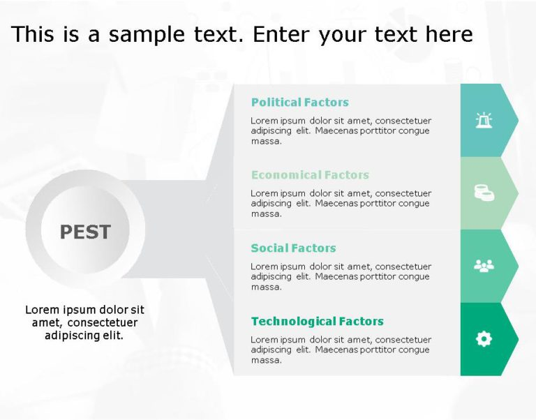 PEST Strategy Template for business use -27i